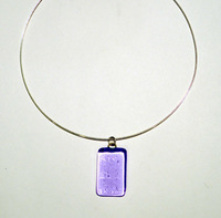 PURPLE RAIN pendant